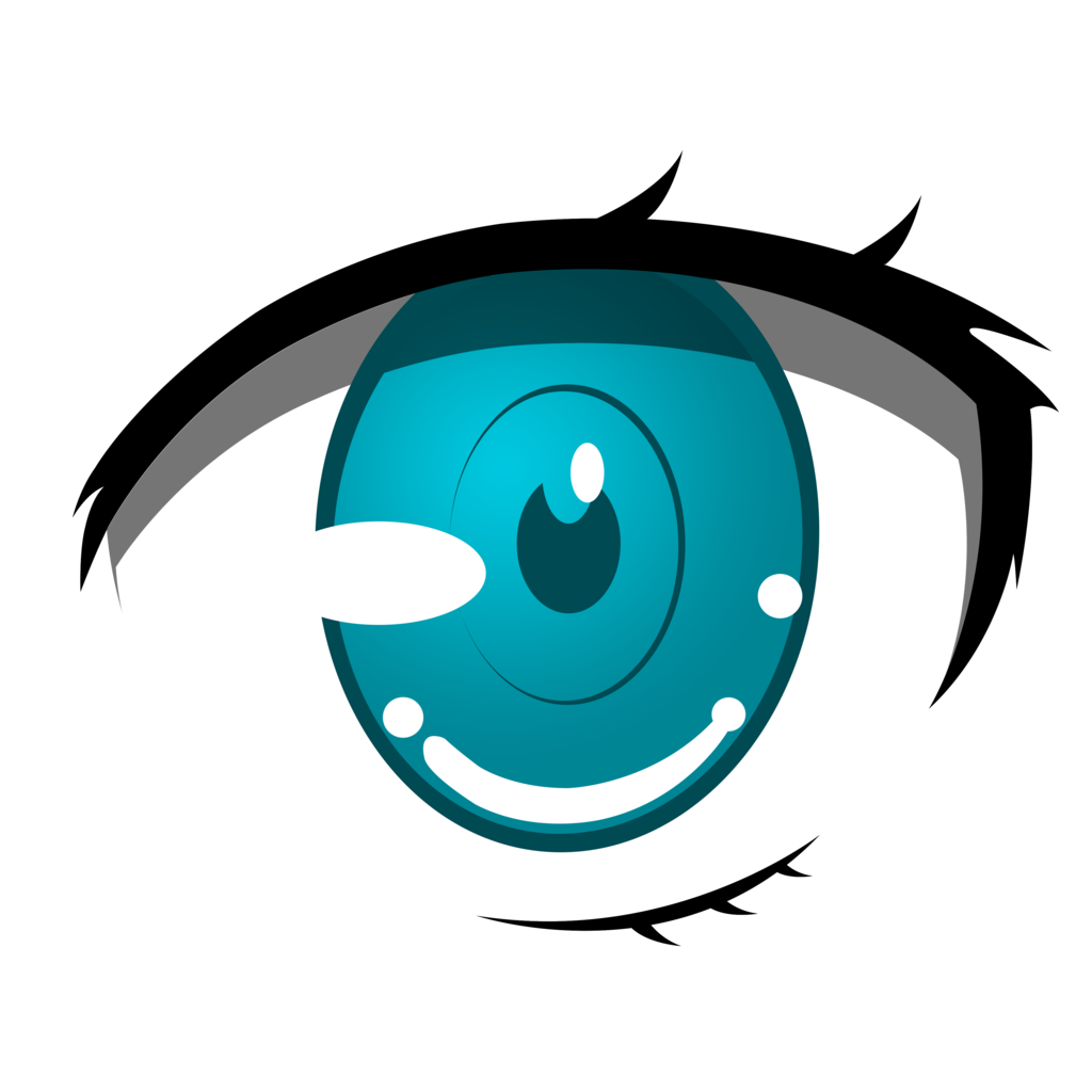 anime eyes png transparent