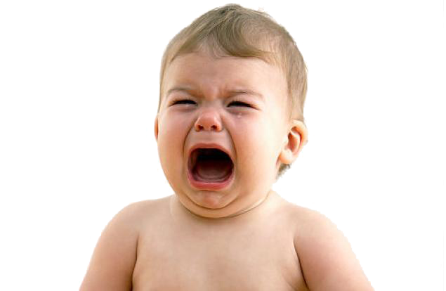 Crying baby png. Transparent image arts
