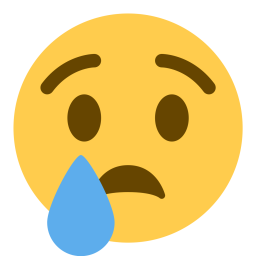 Cry face png. Free sad tear emoji