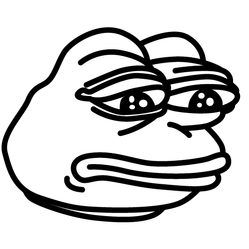 pepe vector feels good man