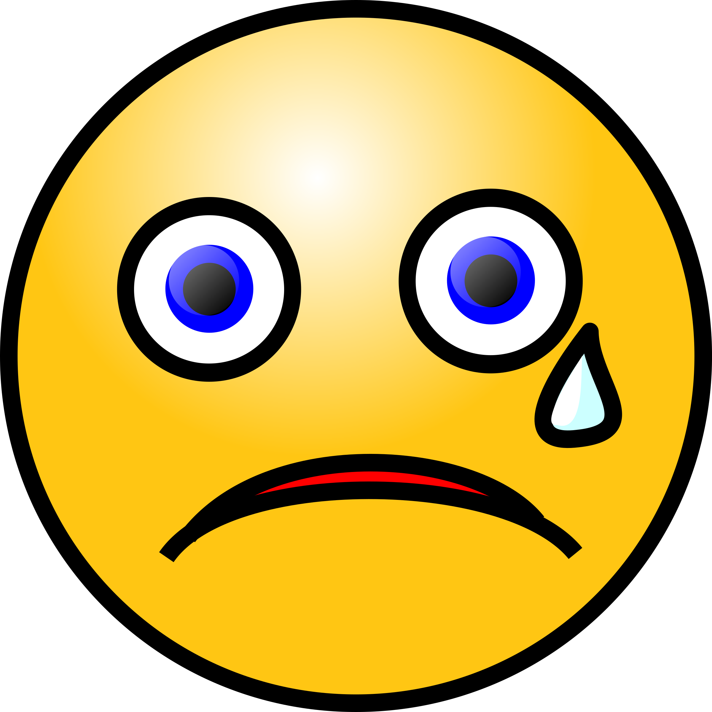 Crying face png. Emoticons icons free and