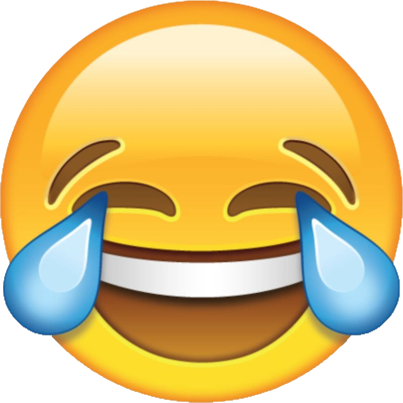 Laughter face with tears. Crying laughing emoji png banner black and white download