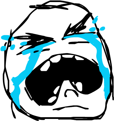 Crying meme png. Download face image with