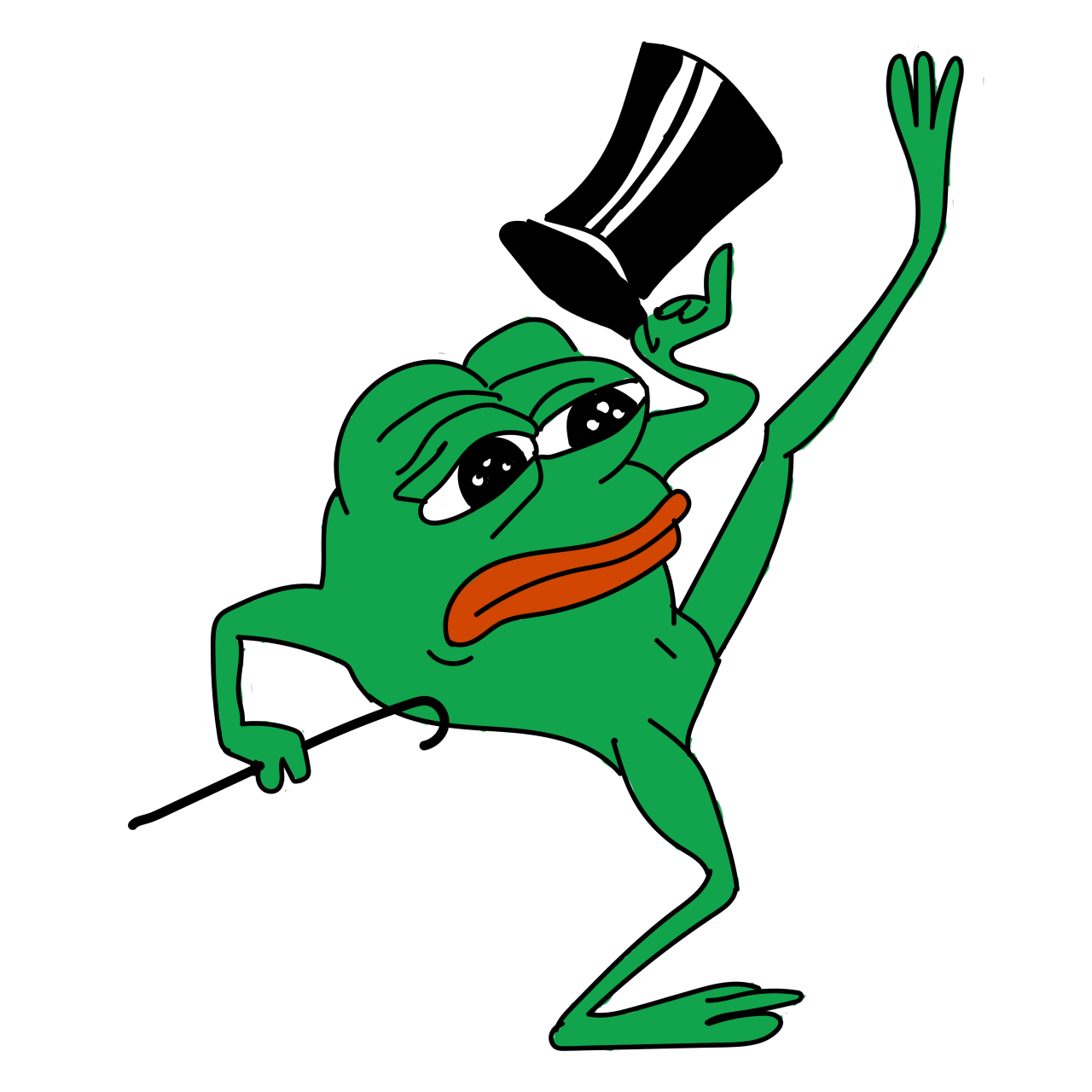 Dancing transparent stickpng download. Pepe sad png jpg library library