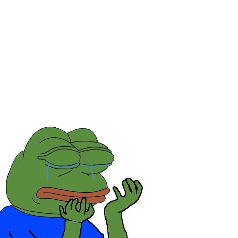 Crying pepe png. Pol politically incorrect thread