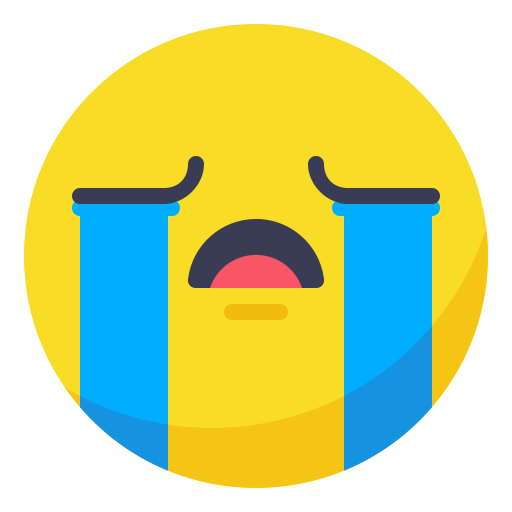 Cry face png. Tears weeping icon ico