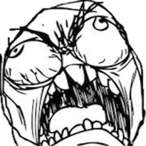 Crying troll face png. Download angry meme hq