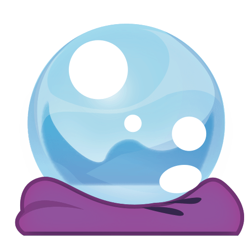 Crystal ball emoji png. For facebook email sms