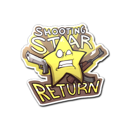 Cs go sticker png. Shooting star return stash