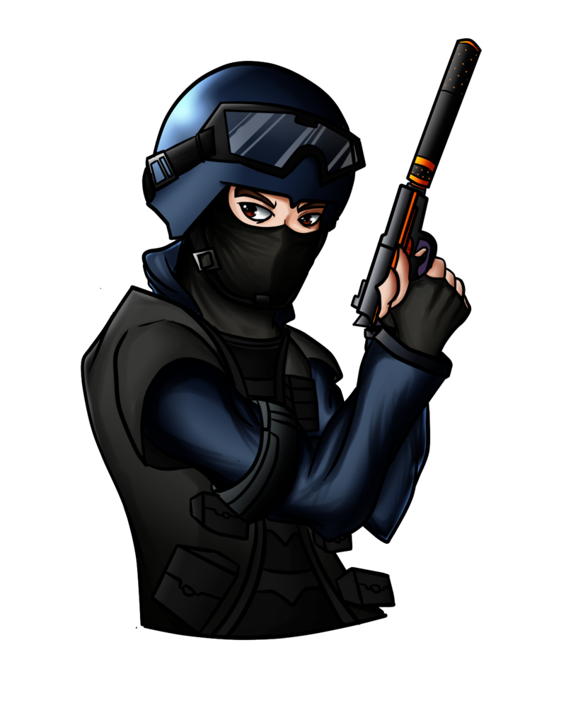 Cs go terrorist png. Csgo counter commission by