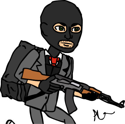 Terrorist csgo png. Professional by alexkbs on