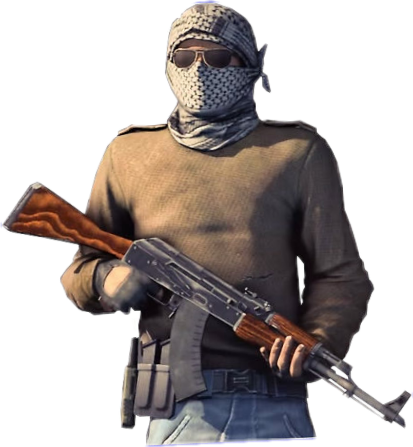 Csgo character png. Sticker by hipeqpro