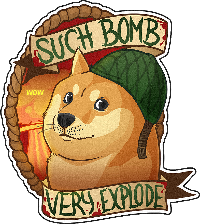Csgo funny png. Doge sticker google search
