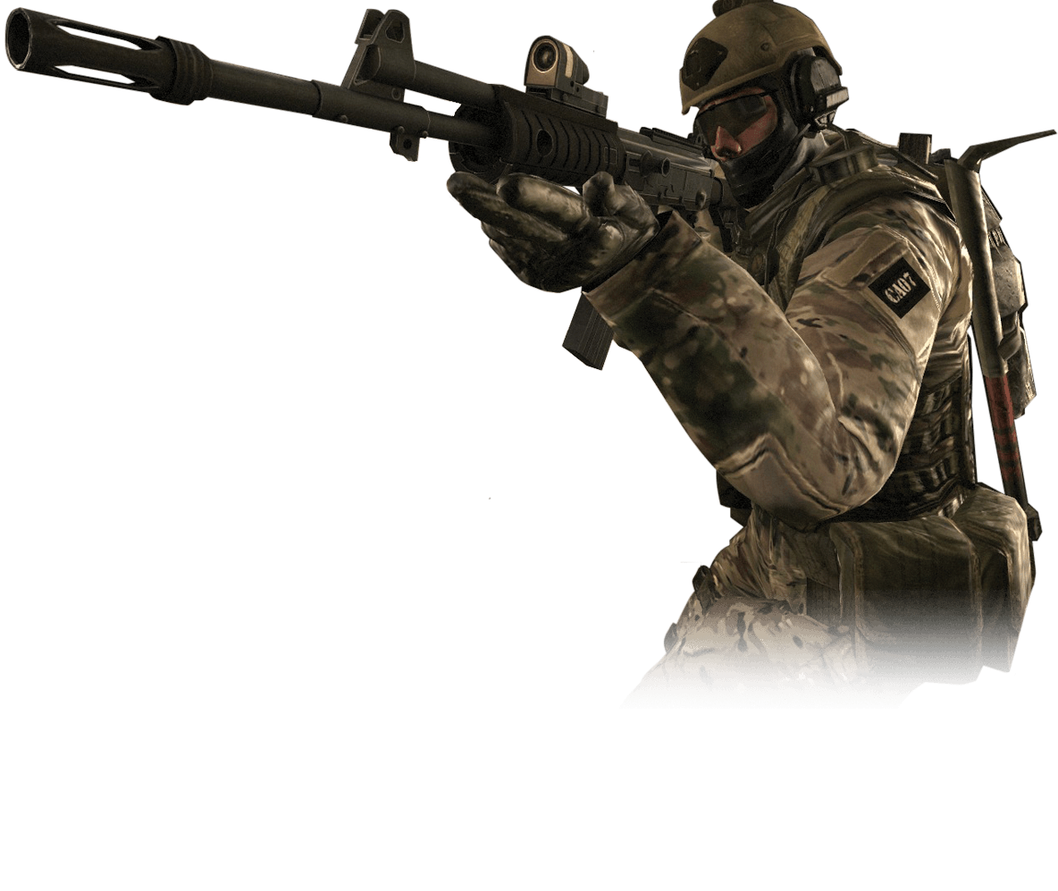 Strike transparent images pluspng. Cs go counter terrorist png png black and white download