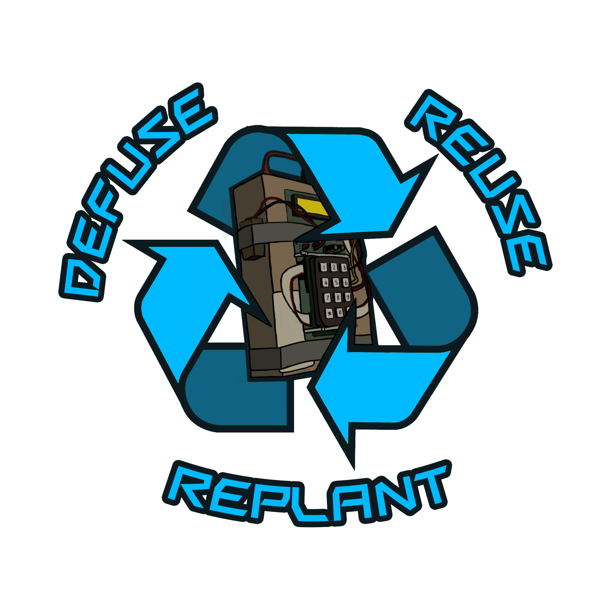 Csgo sticker png. Defuse reuse replant but