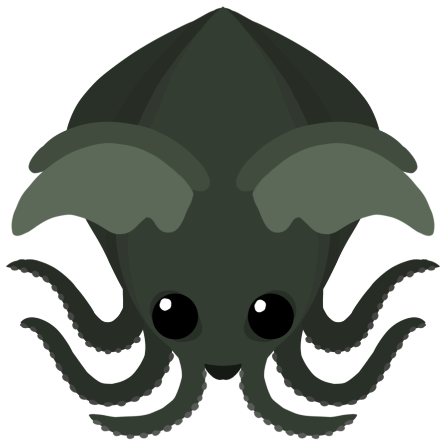 Cthulu drawing. Digital art octopus cthulhu