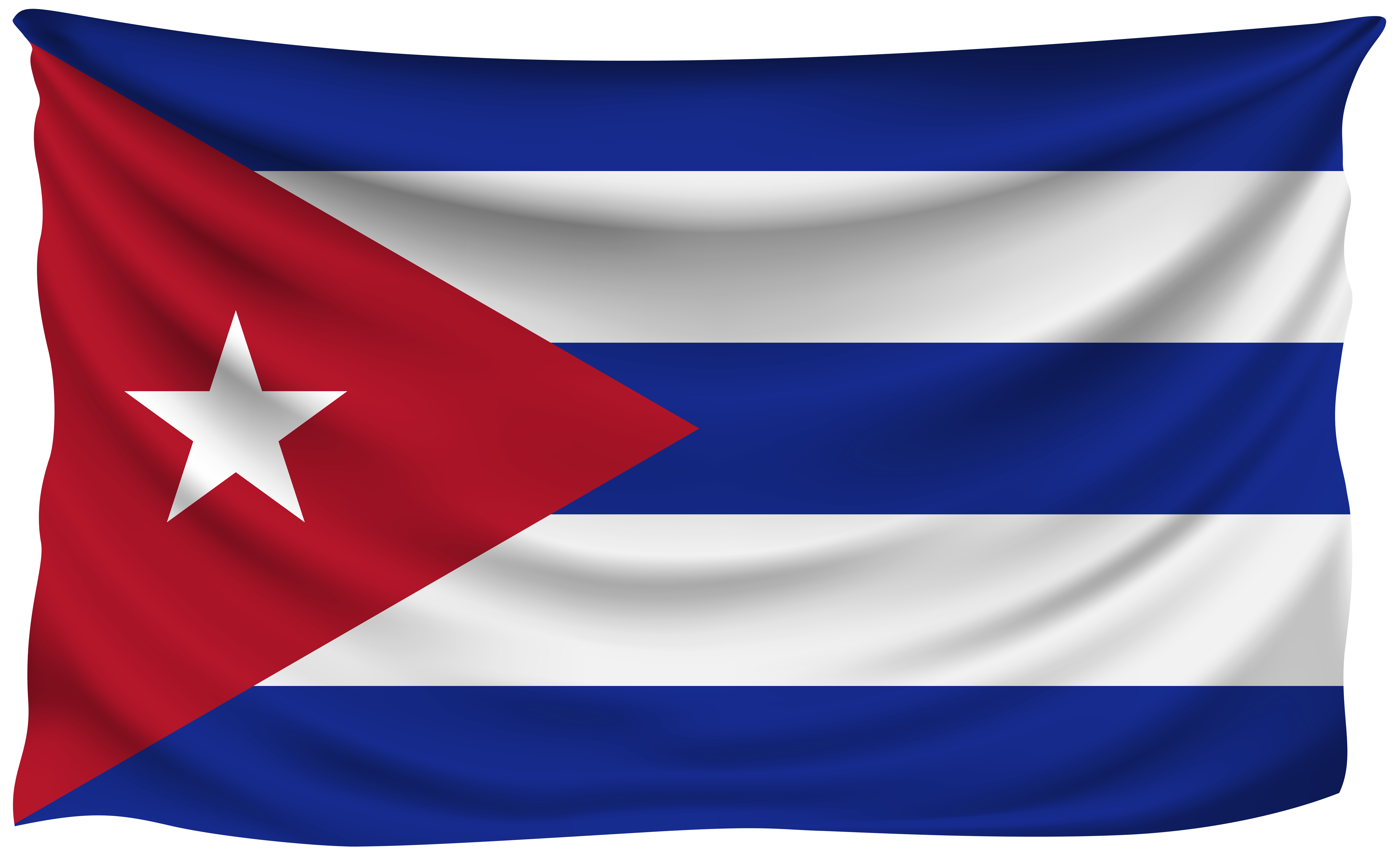 Cuban flag png. Cuba wrinkled gallery yopriceville