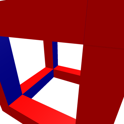 Cube clip red. From to blue roblox