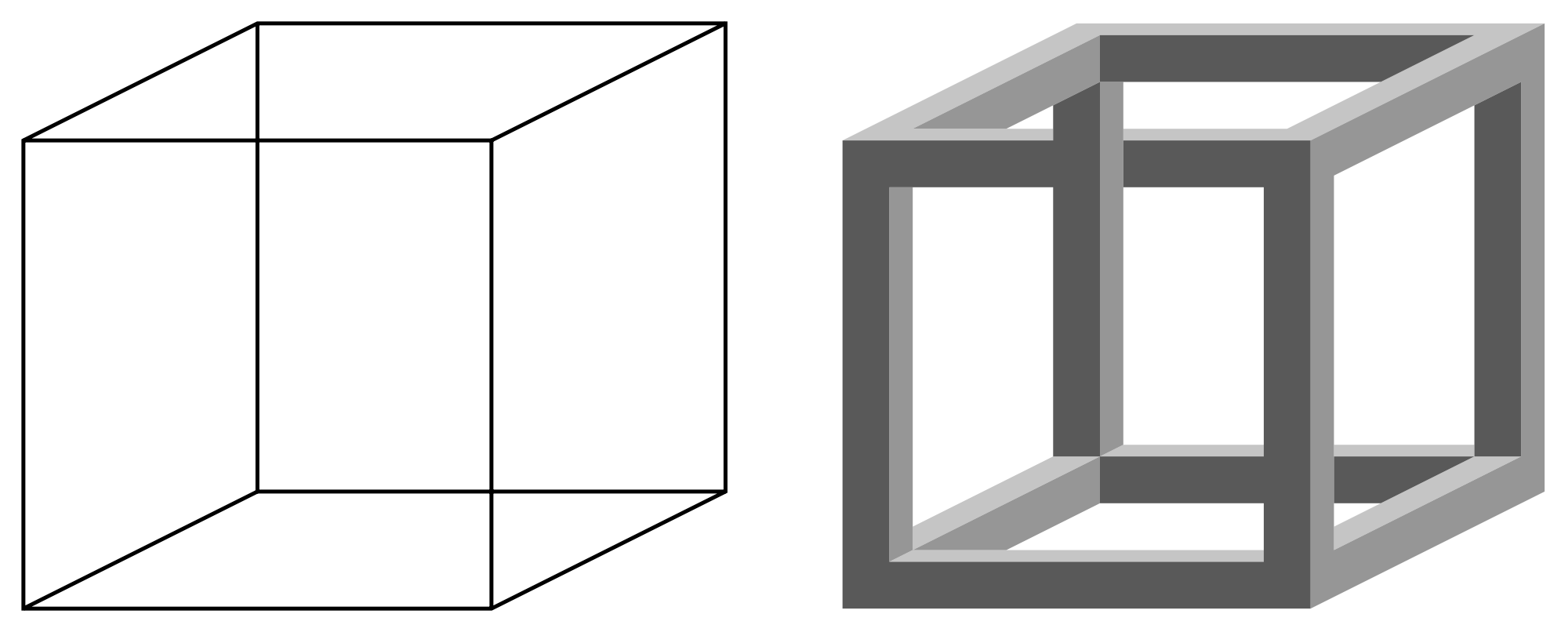 Cube png transparent. File necker and impossible