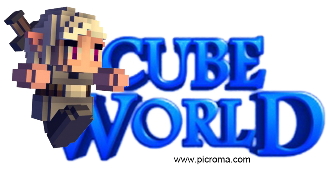 Cube world png