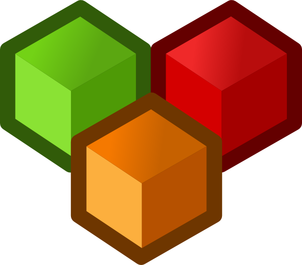 Cubes vector cube icon. Clip art at clker