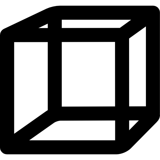 Cubes vector cube outline. Icons free download