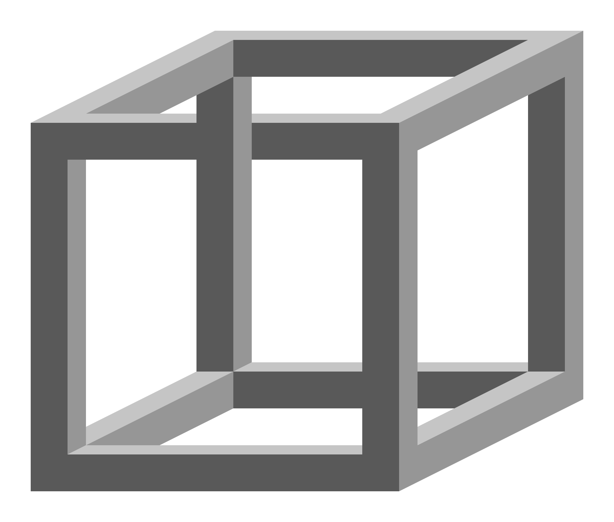 Cubes vector impossible. File cube svg wikimedia