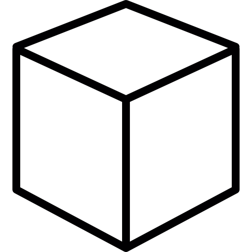 Cubes vector cube icon. Single icons free download