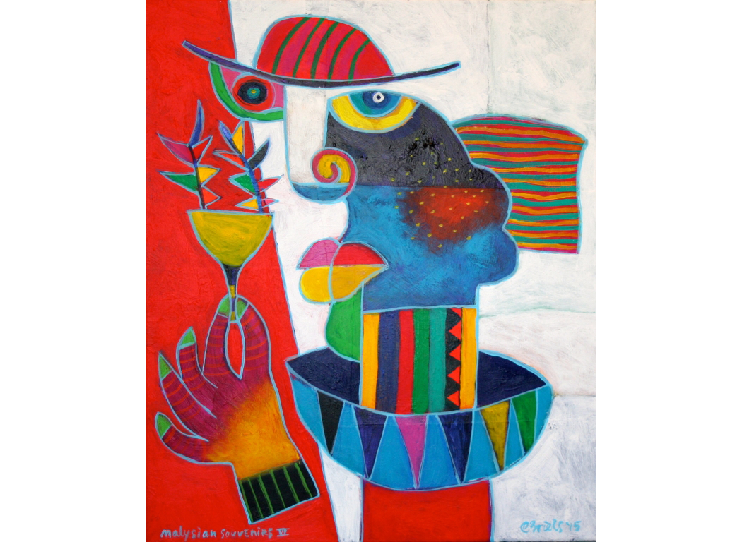 Cubism drawing modern. Paintings clemens briels offical