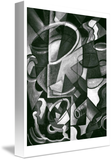 Cubist cup by nina. Cubism drawing pen free library