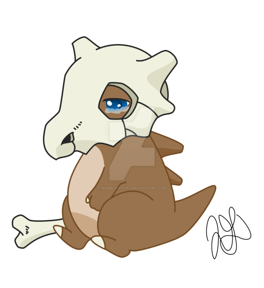 Cubone drawing poor. Adopt by angelkitty on