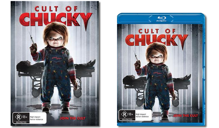 Cult of chucky png. In cinemas on home