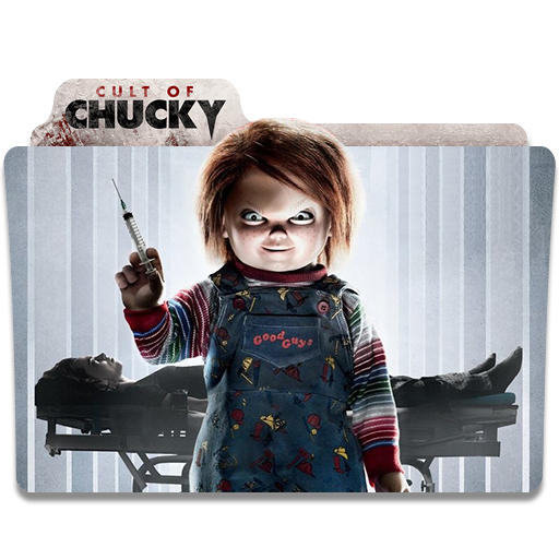 Cult of chucky png. Movie folder iocn by