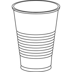 Cup plastic cup