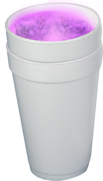 Lean png. Dat purple drank double
