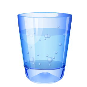 Glass of water png. Cup image