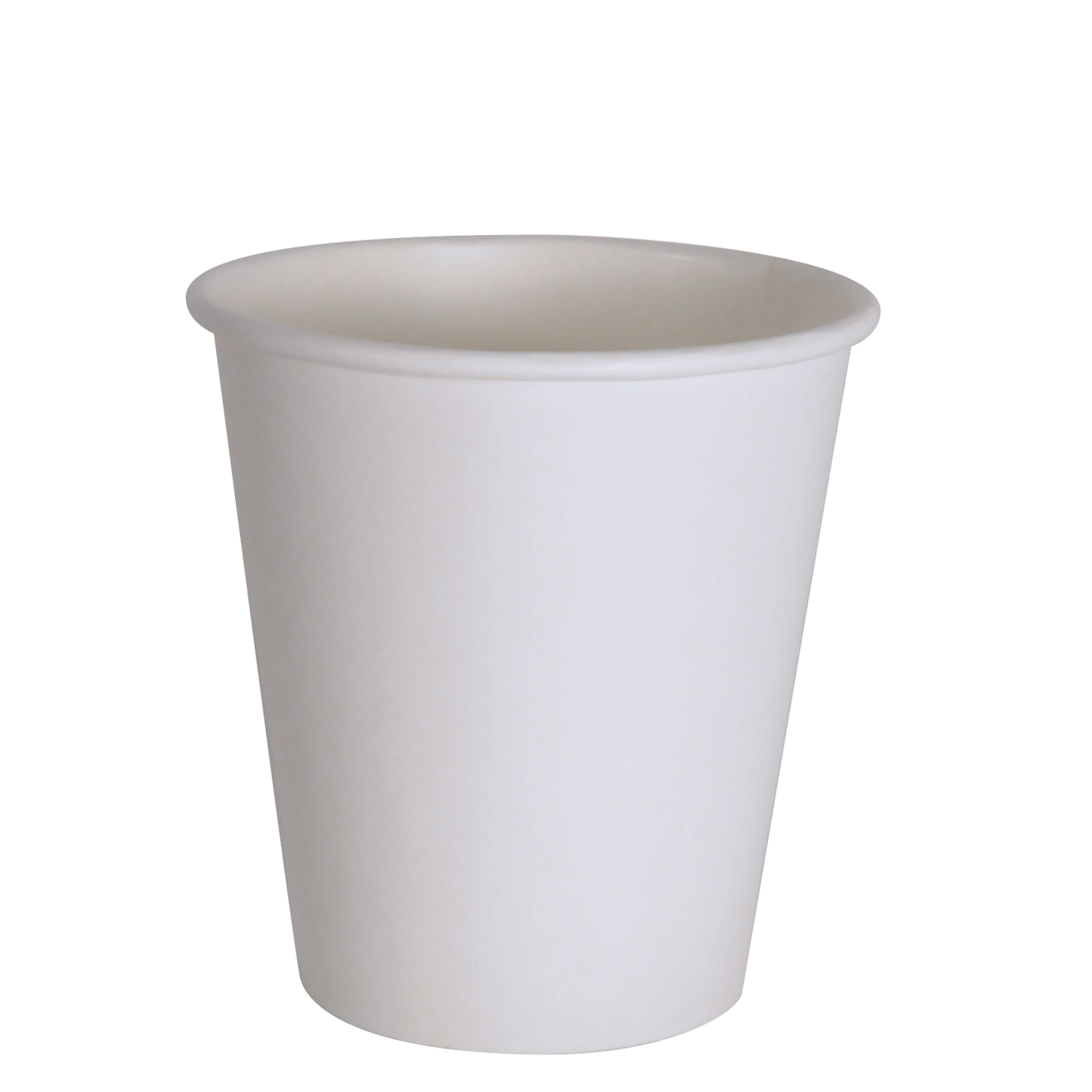Cup transparent 10 oz. White hot