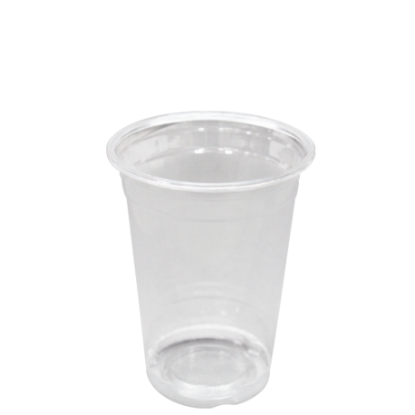 Cup transparent clear plastic. Karat oz pet c
