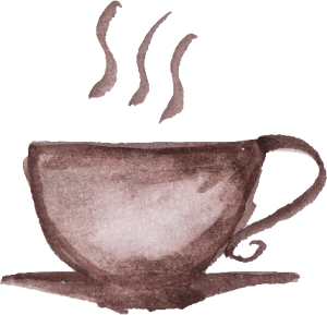 Coffee cup png watercolor. Transparent onlygfx com