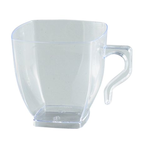 Cup transparent disposable. Kaya collection clear plastic