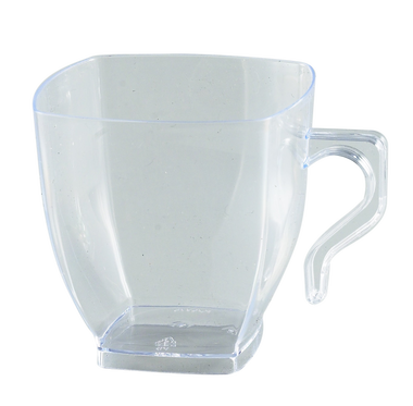 Cup transparent disposable. Clear plastic coffee mugs