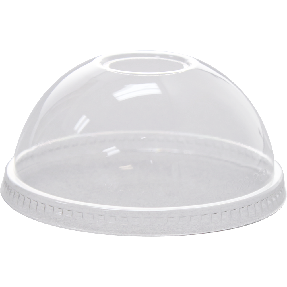 Cup transparent dome lid. Lids for cups clear