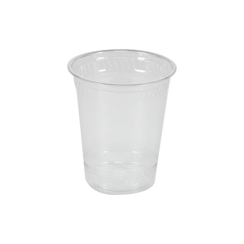 Cup transparent translucent. Cold drink plastic clear