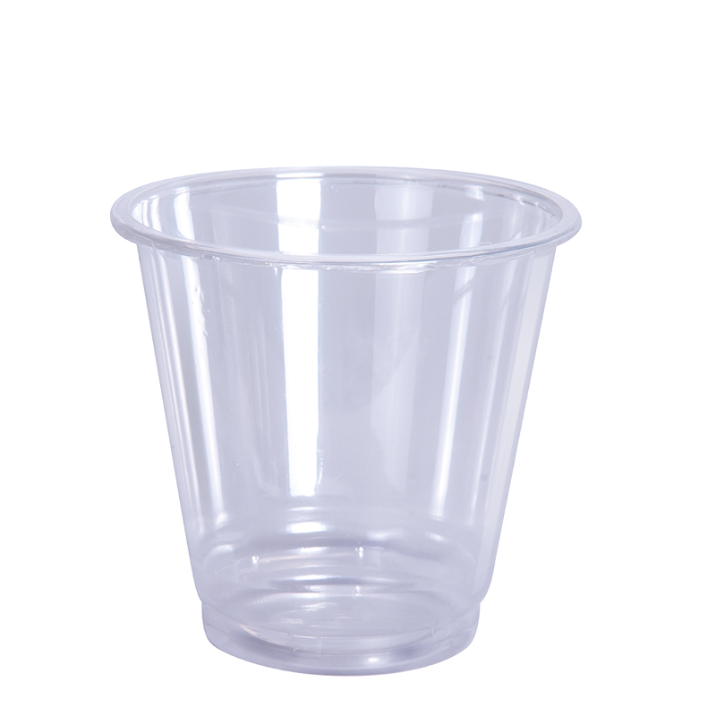Cup transparent translucent. Portion oz pp