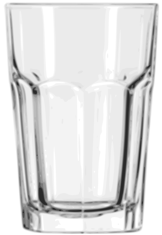 Cup transparent tumbler. Cocktail glass table free