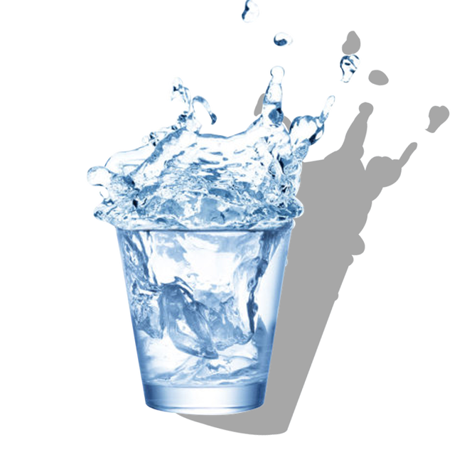 Cup water png. Drinking well ice bucket