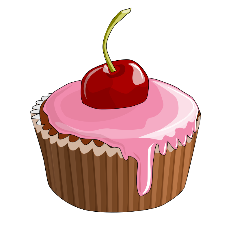 Cupcake clip art png. Clipart free large images