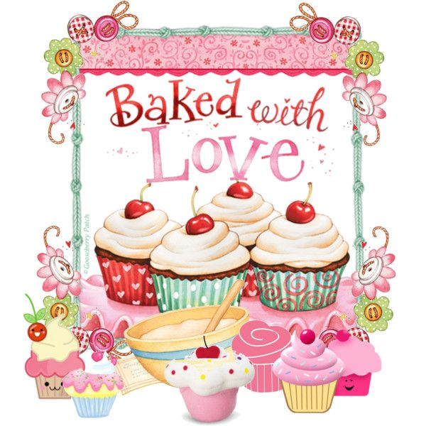 Cupcake clipart september. An art collage from