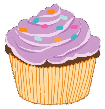 Cupcake clipart september. Clipartaz free collection download