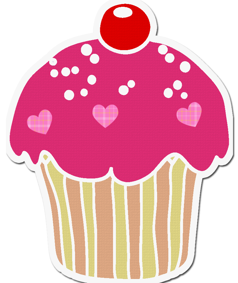 Cupcake sticker png. Cup cake new pinterest